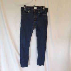 Hudson NICO Midrise Super Skinny Jeans Women's 28